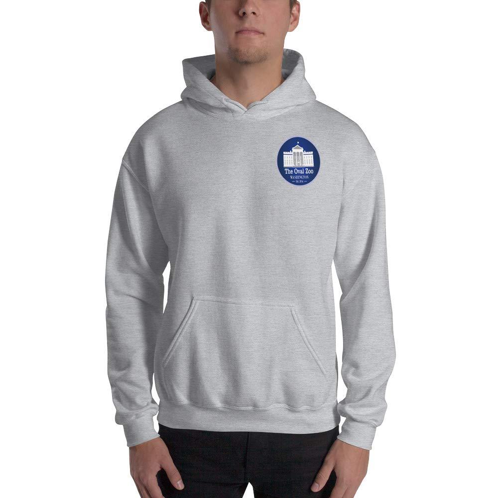 Hooded Sweatshirt Sport Grey US 45TH President The Oval Zoo
