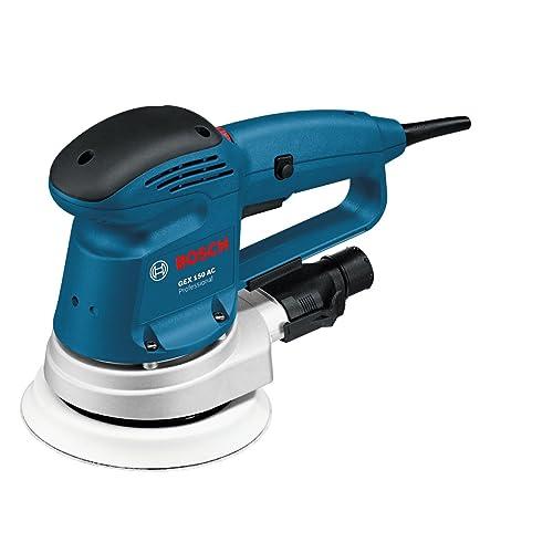 Bosch Professional 0601372768 Ponceuse excentrique GEX 150 AC, Bleu