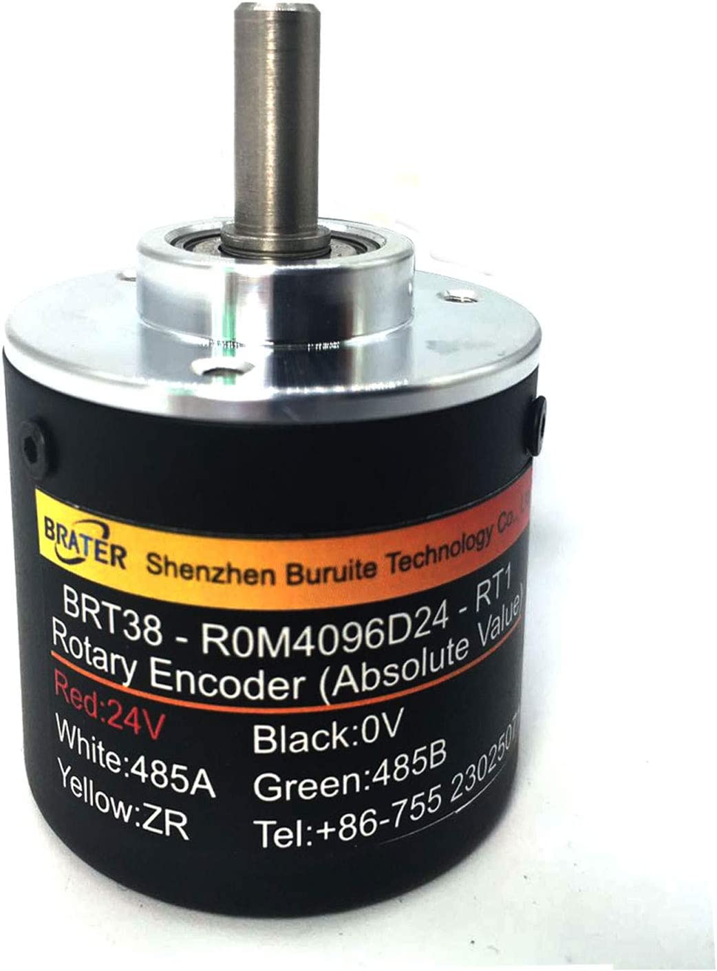 brater Rotary Absolute Rotary Encoder BRT38-C0M1024D24-RT1 24 Turns Power-Off Memory Non-incremental Style Gear Mechanical Structure no Power Supply 2 Years Warranty