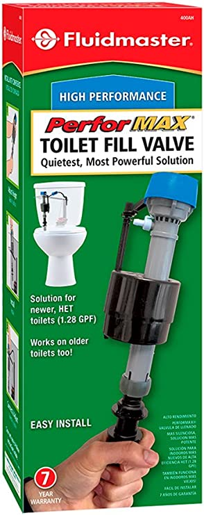 Fluidmaster 400ah Performax Universal High Performance Toilet Fill Valve Flush Valves Amazon Com