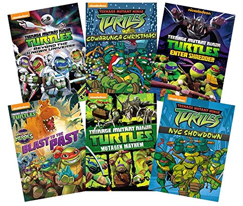 Ultimate Teenage Mutant Ninja Turtles: Volume 1 (6-DVD Nickelodeon TMNT Collection): Beyond the Universe/Cowabunga Christmas/Enter Shredder/Blast to the Past/Mutagen Mayhem/NYC Showdown