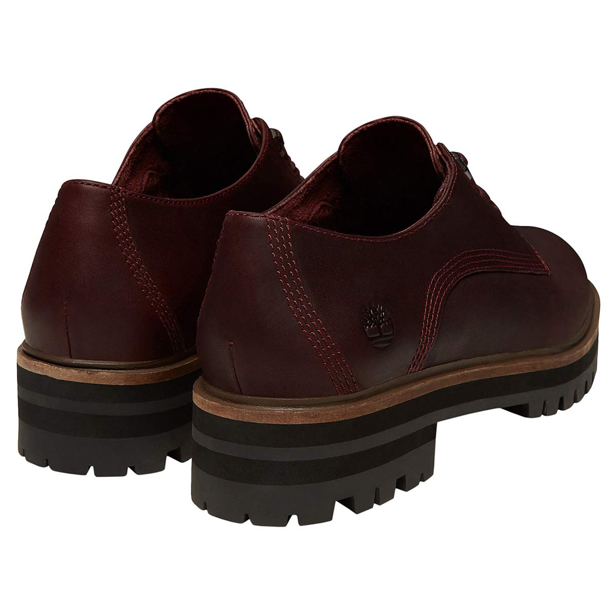 Timberland Womens London Square Oxford Leather Shoes