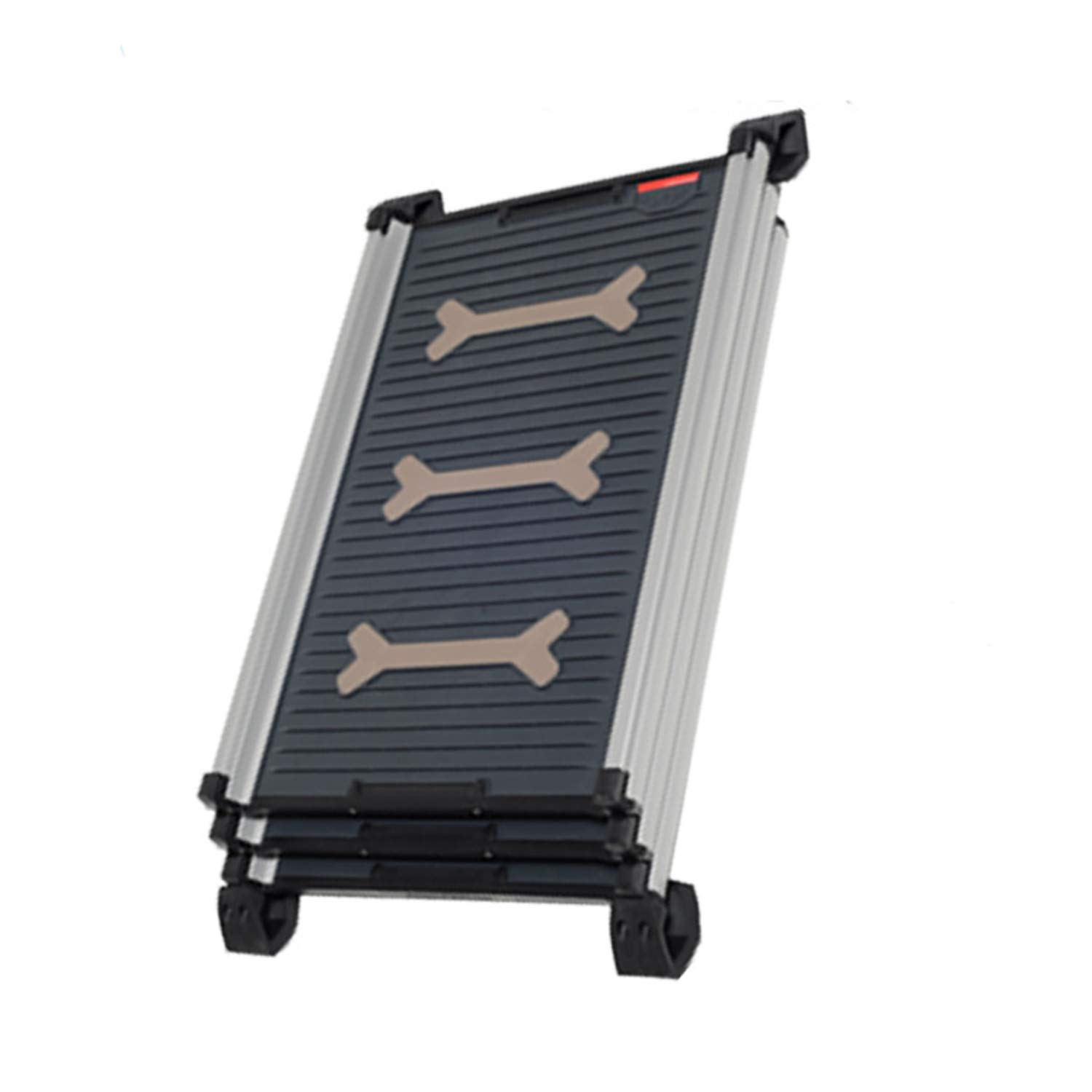 High Tech Pet Telescopic Step Ladder Anti Skid Ladder Ladder 4Pets Car Pet Cage Telescopic Step Ladder,Color as Shown,16042.5c by Yeaha pet-stairs-and-steps
