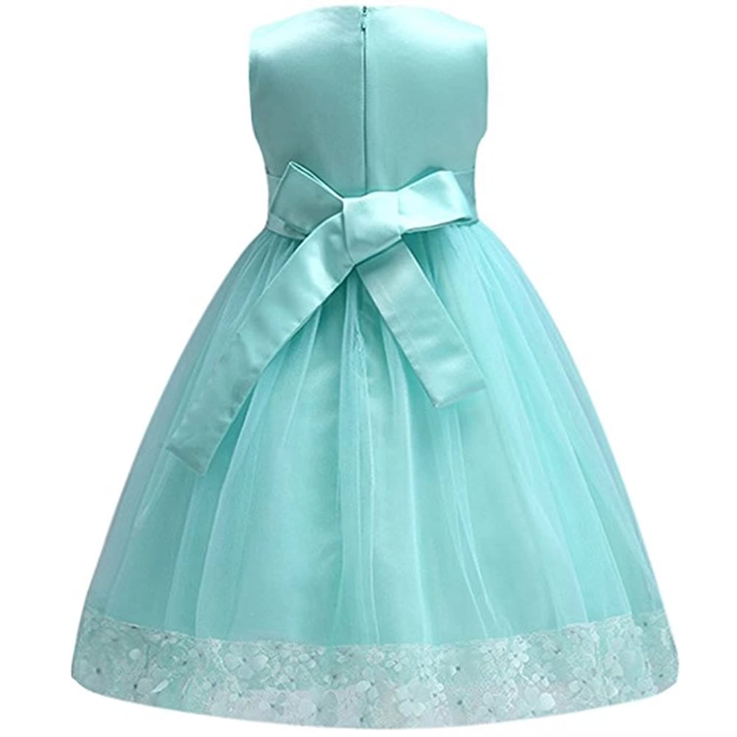 Amazon.com: ZaH Girls Elegant Ball Gown Lace Dress for Party: Clothing