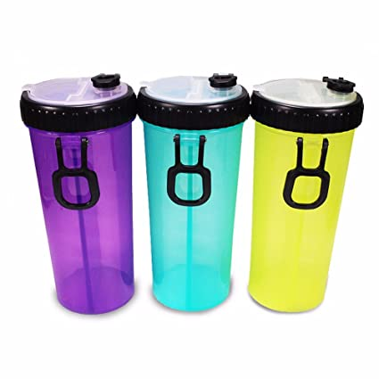 Doble uso Outdoor Portable PET PET grano cubo taza de agua, dispensador de agua,