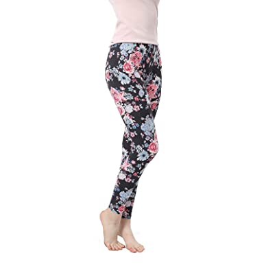 8c96e67b52642 GARTOL High Waisted Leggings - Classic Buttery Soft Full Length Opaque Slim  fit - 9 Colors - Multicoloured - 14W Large x 24L XX-Large: Amazon.co.uk: ...
