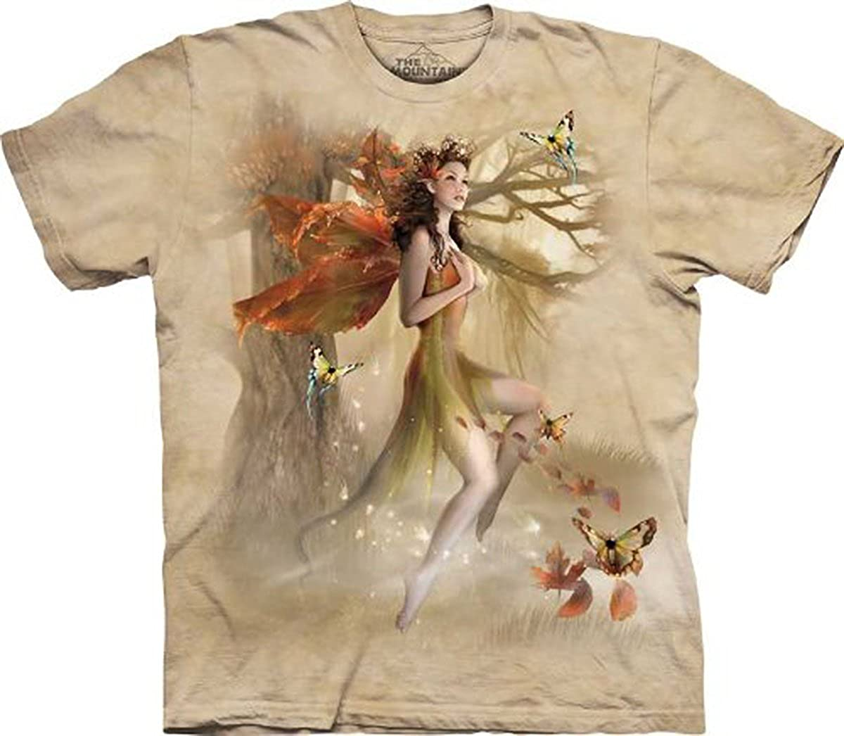 The Mountain Fairy in Forest Meadow Adult T-Shirt