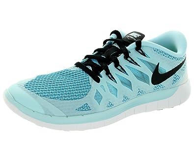 best loved 98e30 4a04d Nike Women's Free 5.0 Open Back Slippers, Blu (Blue), 2.5 UK ...