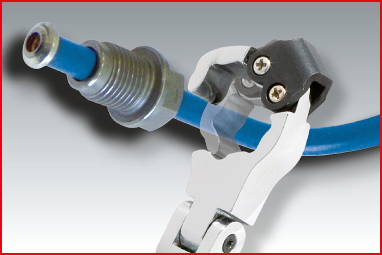 8x9mm KS Tools 518.0332  CHROMEplus Ratchet spanner with revolving head