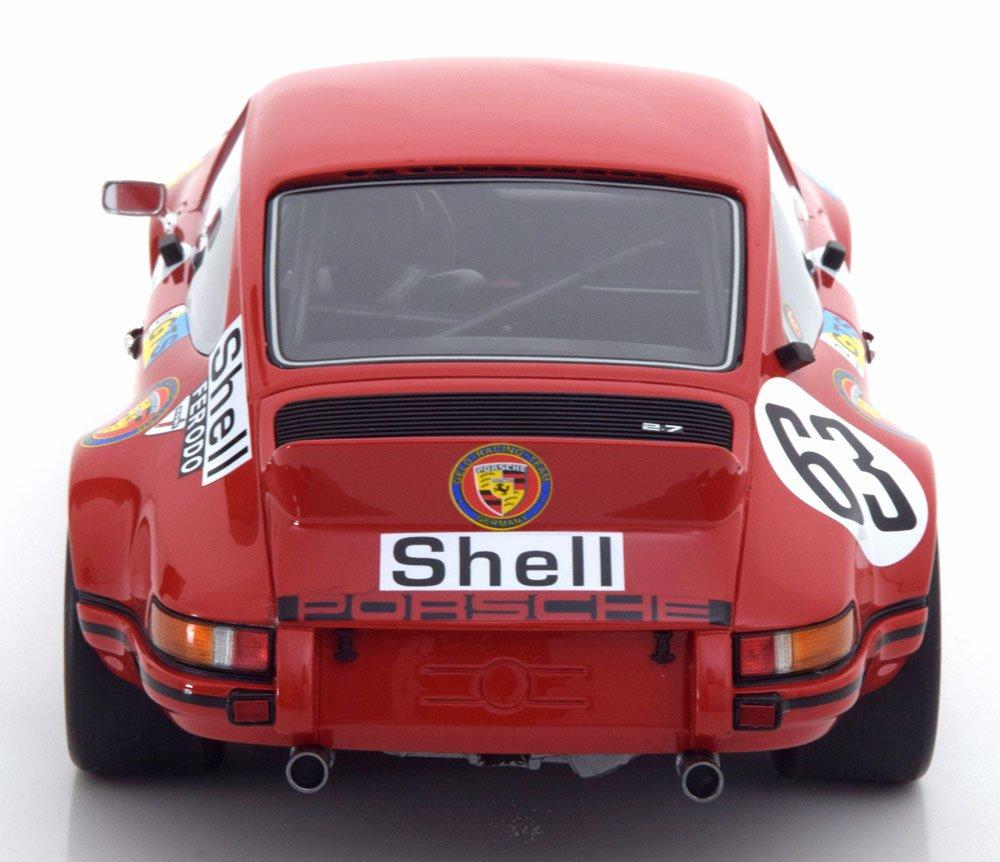 Gt Spirit - Maqueta de Porsche 911 Carrera RSR - Le Mans 1973 - Escala 1/18, zm102, Rojo/Negro: Amazon.es: Juguetes y juegos