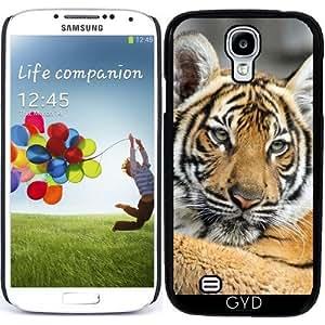 Funda para Samsung Galaxy S4 (GT-I9500/GT-I9505) - Tiger_2014_1002 by JAMFoto