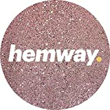 Hemway (Rose Gold) Glitter Grout Tile Additive 100g for Tiles Bathroom Wet Room Kitchen | Easy to use - Add/Mix with Epoxy Resin or Cement Based Grout | Temperature Resistant