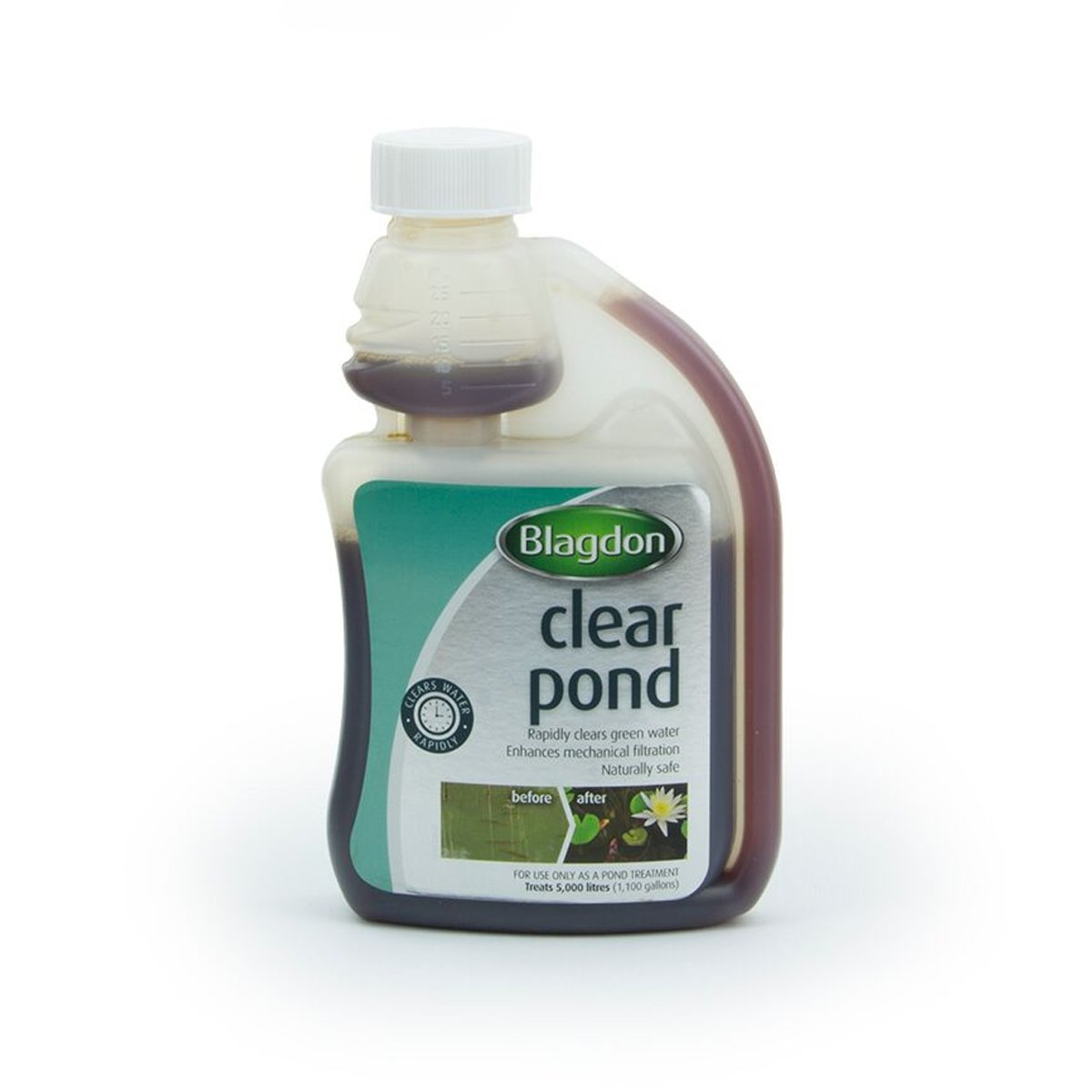 Blagdon Clear Pond Treatment 250ml Feature Interpet Water Home Garden Easy Use Ebay