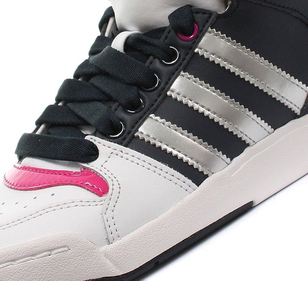 adidas Originals Midiru Court Mid 2.0 W, Baskets mode femme Bianco Runwht Metsil Legink