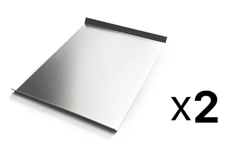 2-Pack Fox Run Toaster Oven Tray Mini Baking Sheet 6.5 X 10 Tin /& Steel