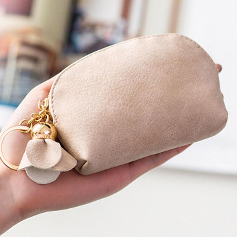 Toamen Mini Billetera De Cuero Para Mujer Holder Zip Monedero Bolso De Embrague (A): Amazon.es: Ropa y accesorios