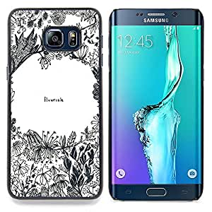 "Planetar ( Nubes Mar Ocean Waves Luna"" ) Samsung Galaxy S6 Edge Plus / S6 Edge+ G928 Fundas Cover Cubre Hard Case Cover"