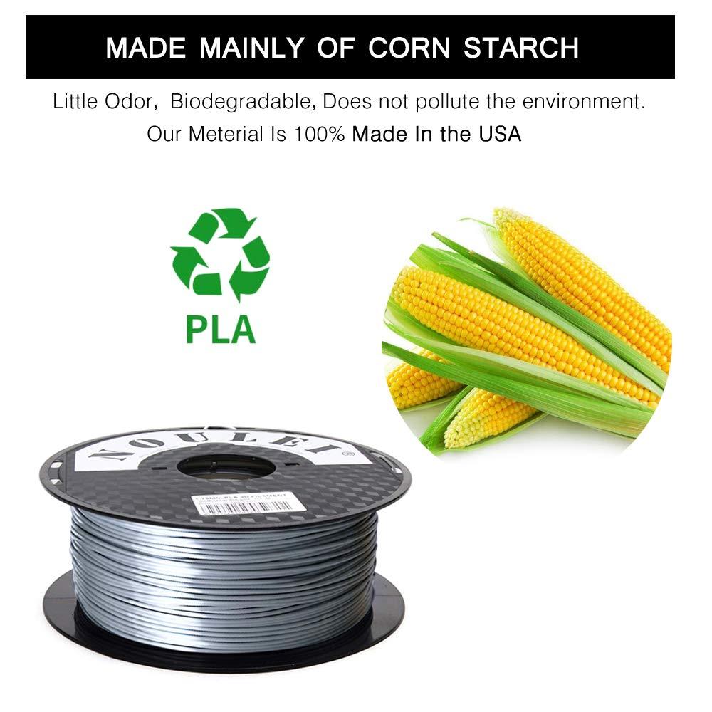 Noulei PLA Shiny Filament, 3D 3D 3D Drucker Filament 1.75mm, Silk Antique Gold, 1 kg Spool B07PRX7X4B Filament-3D-Druckmaterialien aff36e