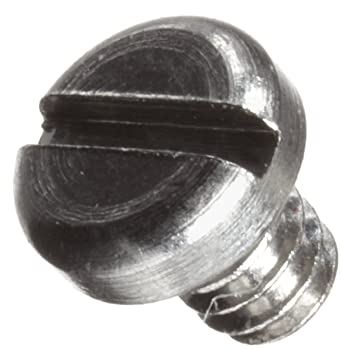 Stainless Steel Machine Screw #000-120 UNM Threads Made in US 3//32 Length Meets ASME B18.6.3 Pack of 25 Plain Finish Fillister Head Slotted Drive