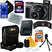 Canon PowerShot SX620 HS 20.2 MP Wi-Fi Digital Camera with 25x Optical Zoom & HD 1080p video International Version + Accessory Kit w/ HeroFiber Gentle Cleaning Cloth