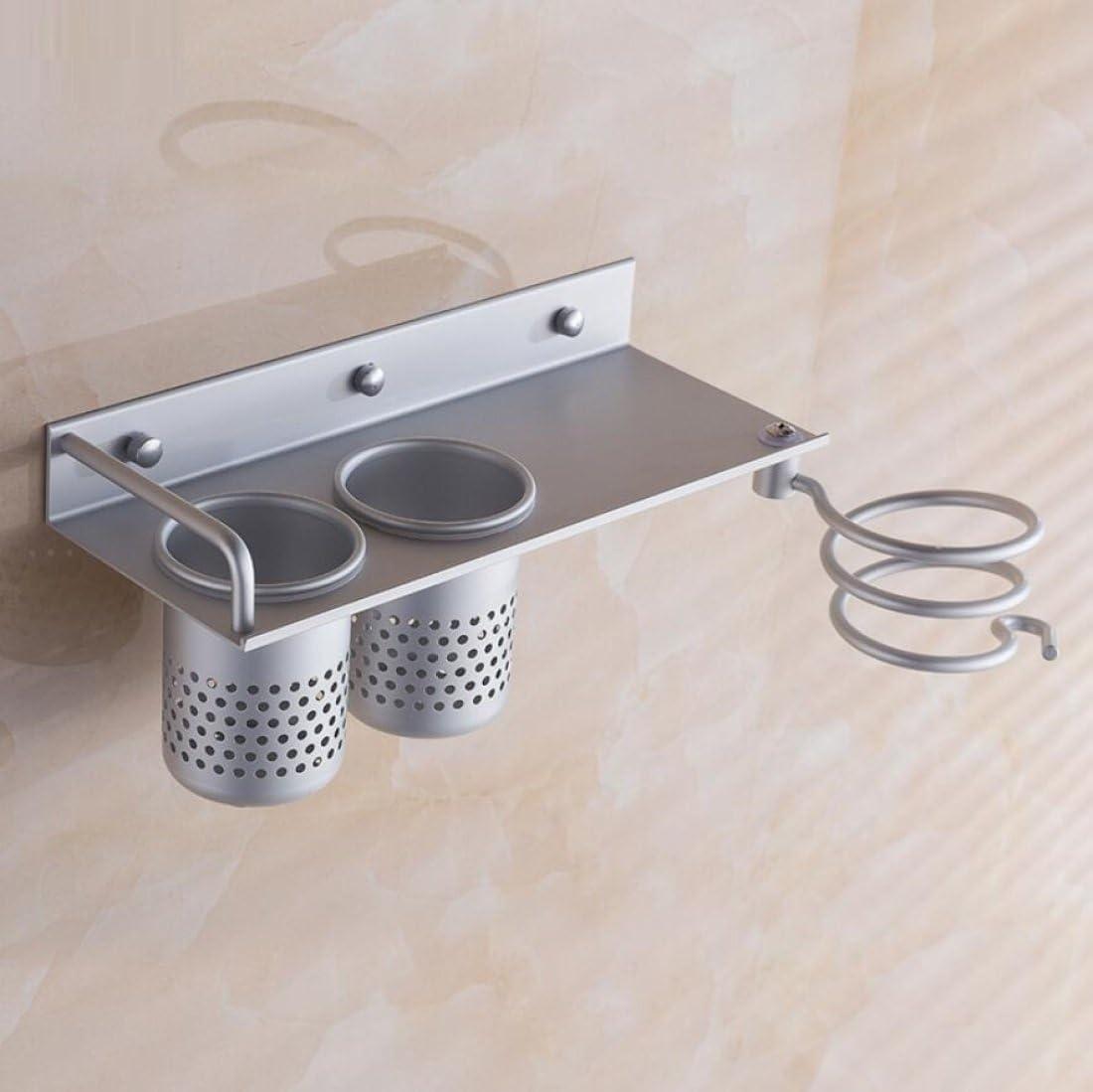 Ganquer Mit Innenring F/önhalter Rack Aluminiumlegierung Wandmontage Bolzeneinsatz F/önhalterung
