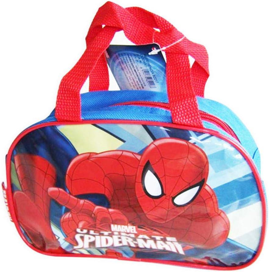 Bolso Bajo Con Asas Spiderman Capacidad 15 x 8 x 23 cms: Amazon.es ...