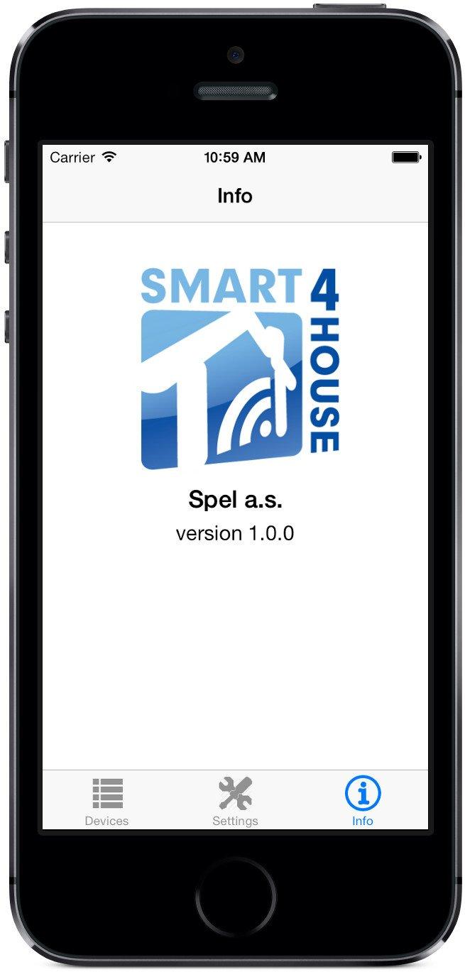 Smart4House S4H-TM-00 - Sensor de temperatura (Wifi, para iOS y Android) blanco: Amazon.es: Bricolaje y herramientas