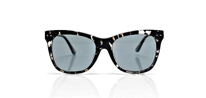 62341afda5478 Image Unavailable. Image not available for. Color  Bottega Veneta BV0034SA  002 Havana Grey Sunglasses