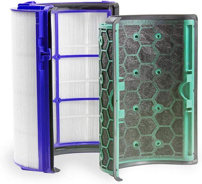 LZH FILTER Filtro de carbón Activado para Dyson Pure Hot Cool HP04 ...