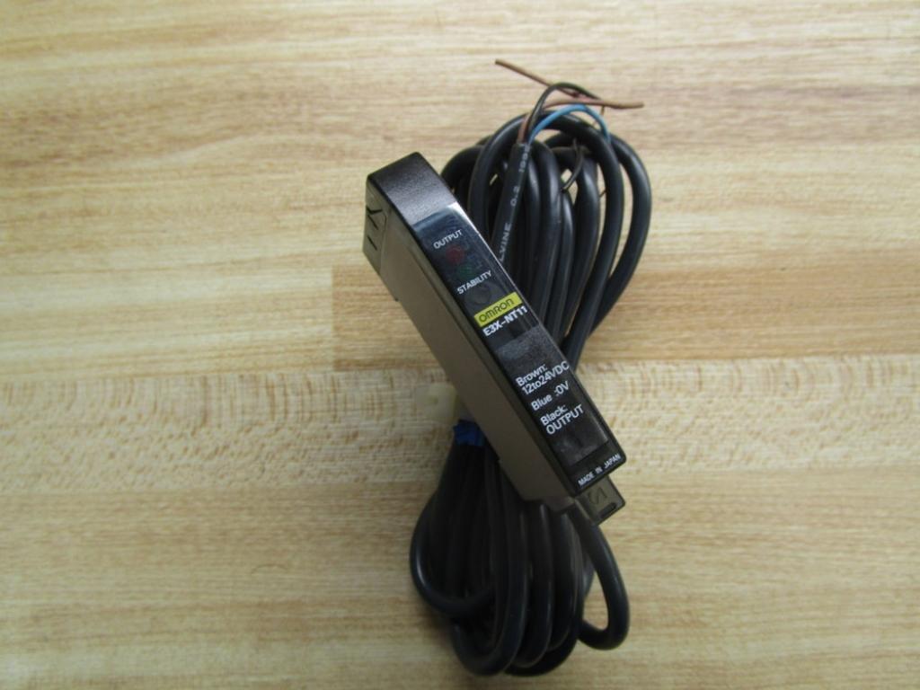 Omron E3X-NT11 Photoelectric Sensor T31896