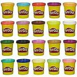 20 Non-toxic Super Color Pack Clay, Multicolor