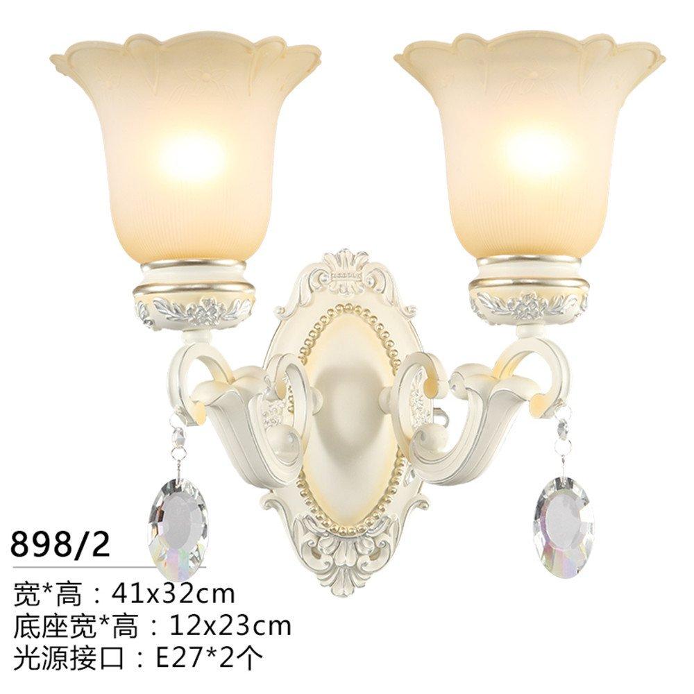 MMYNL Moderne E27 Antik Wandlampe Vintage Wandlampen Wandleuchten für Schlafzimmer Wohnzimmer Bar Flur Bad Küche Balkon Nachttischlampe (41  32cm) Wandleuchte
