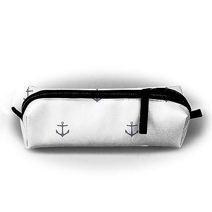 Sailboat - Estuche con cierre de cremallera, diseño de ancla ...