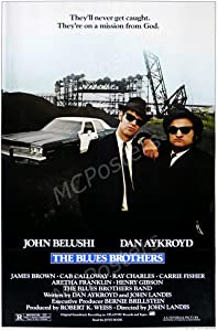 """PremiumPrints - The Blue Brothers Glossy Finish Made in USA Movie Poster - MCP876 (24"""" x 36"""" (61cm x 91.5cm))"""