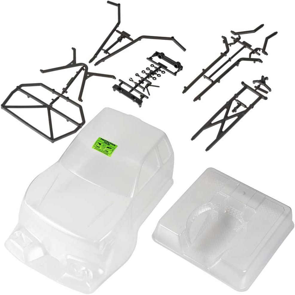 Axial AX4025 Trail Honcho Body with Rear Cage, Clear: AXIC4025 61ZXKm2MV5L