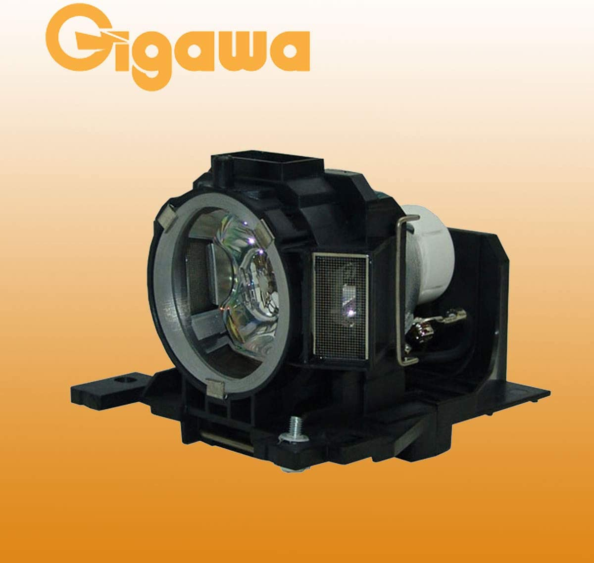 Gigawa lamp and housing Replacement for Hitachi projectors DT01181 for BZ-1 CP-A220N CP-A221N CP-A221NM CP-A222NM CP-A222WN CP-A250NL CP-A300N CP-A301N CP-A301NM CP-A302NM CP-A302WN CP-AW250NM
