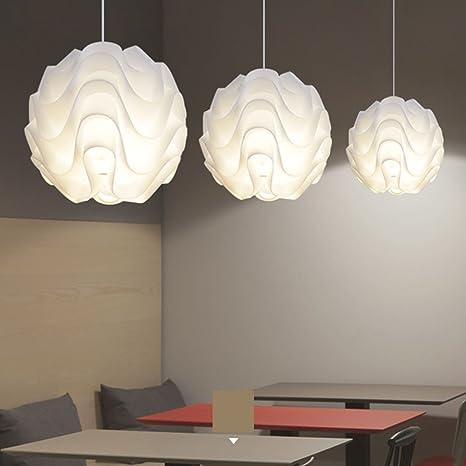 MM DIY redondo esfera con forma de farol de acrílico lámpara ...