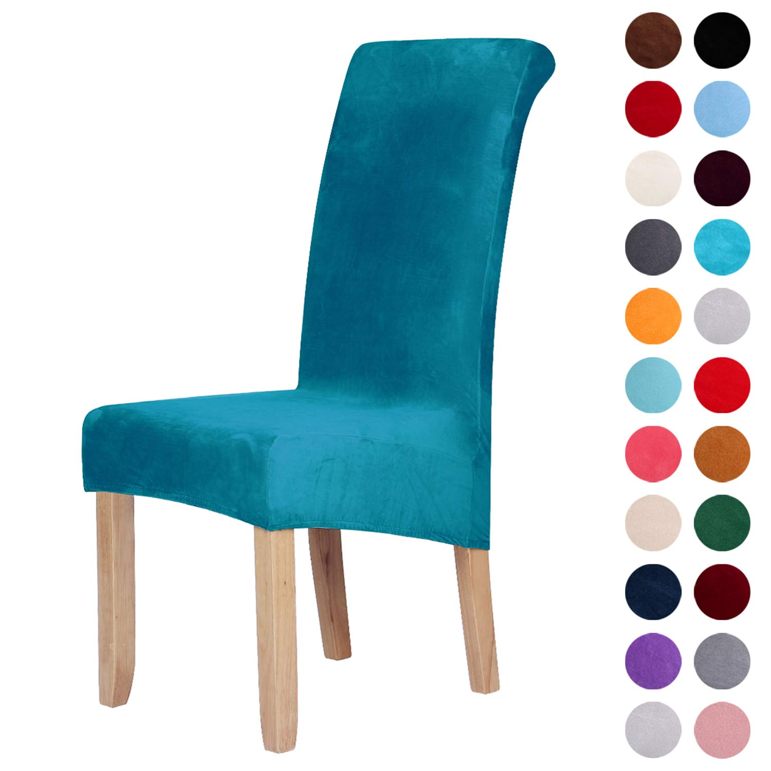 Chair Cover Spandex Strech Dining Room Chair Protector Slipcovers Decor Dining