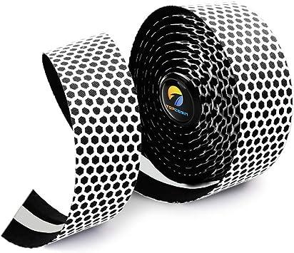 TOPCABIN 2 Rollos de Cinta para Manillar de Bicicleta, diseño de ...