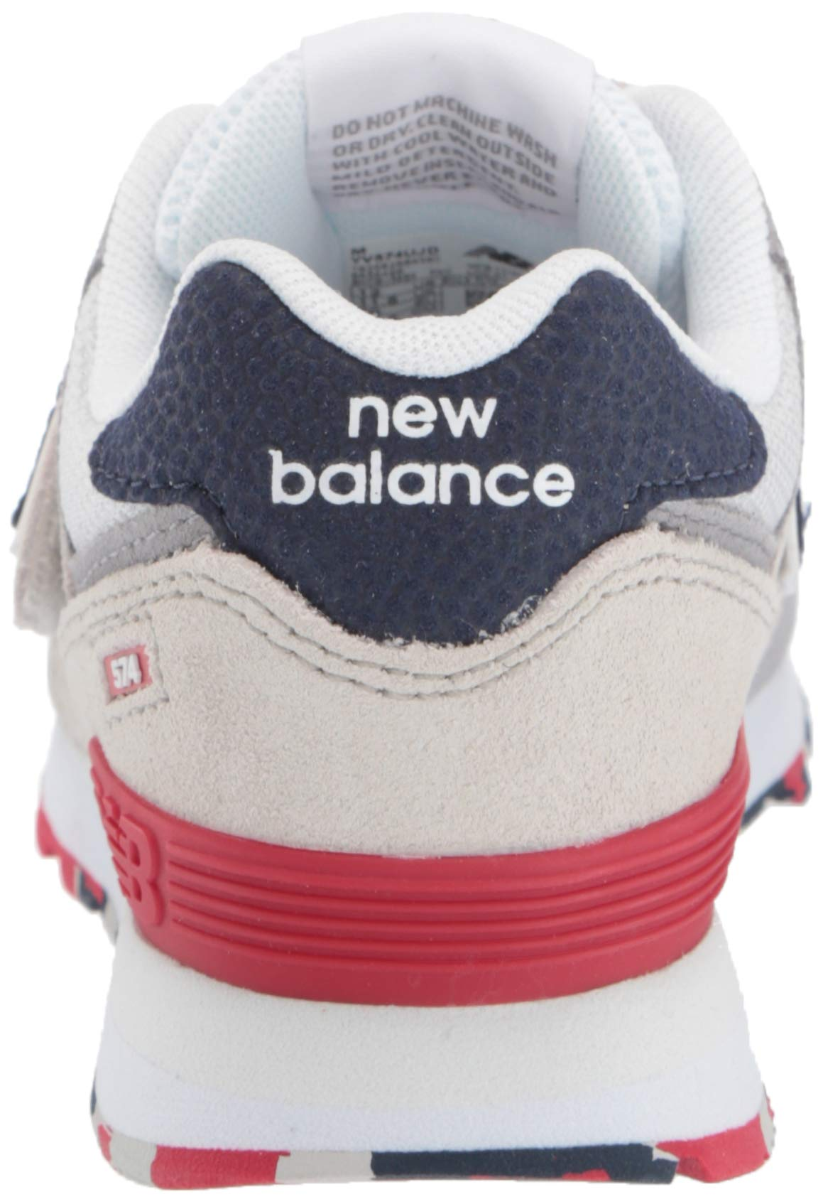 New Balance Kids' Iconic 574 Hook and Loop Sneaker