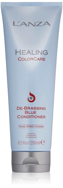 L'ANZA Healing Colorcare De-Brassing Blue Conditioner, 8.5 oz.