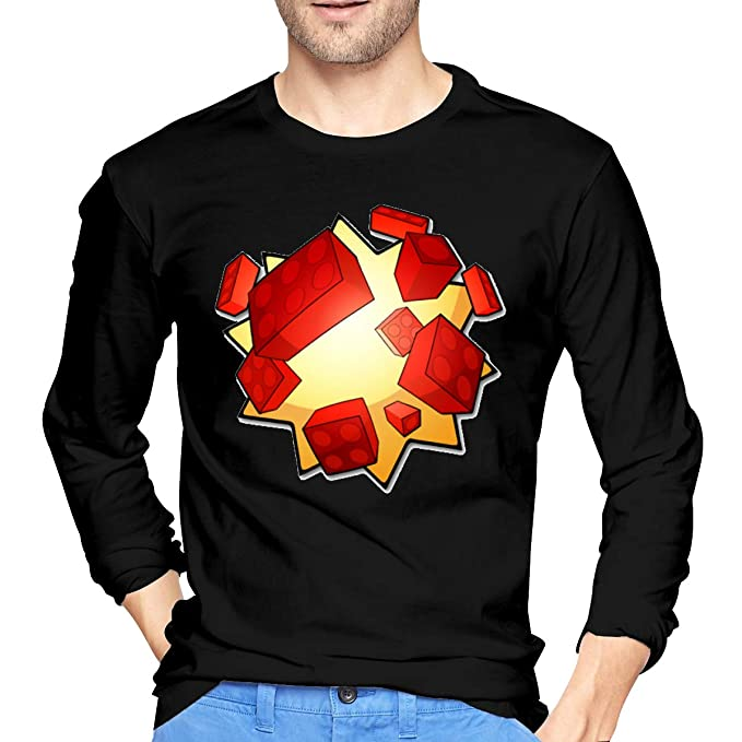Roblox Bloxxer Mens Long Sleeve T Shirts Casual Printed T - got bloxxer roblox