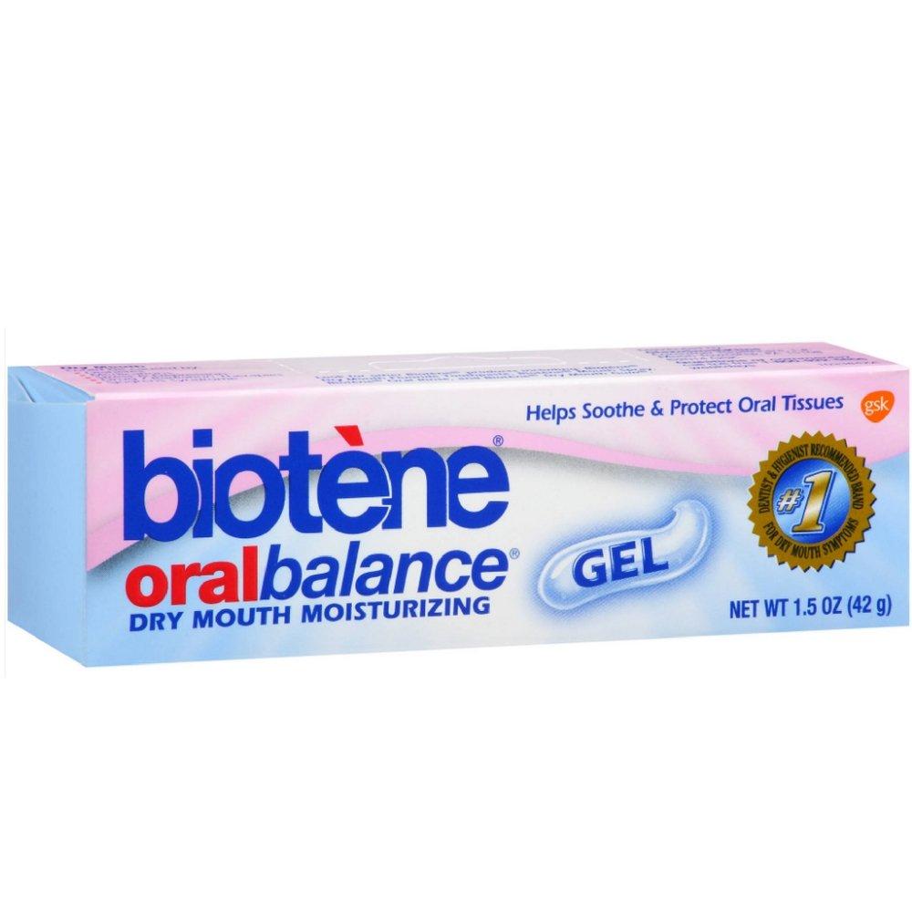 Biotene Oralbalance Dry Mouth Moisturizer Gel 1.50 oz ( Pack of 9)