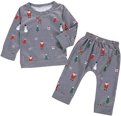 Gxdsya - Conjunto de pijama para bebé, para otoño, recién ...