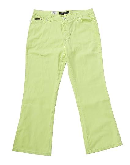 AdoniaMode Damen Stretch Jeans 78 Sommer Freizeit Hose