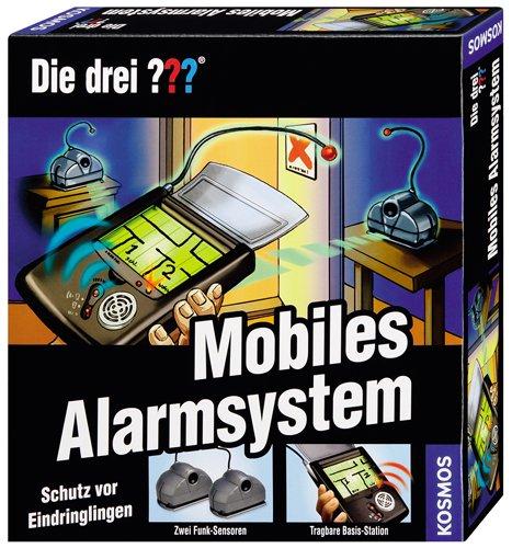 KOSMOS 631468 - Die drei Fragezeichen Mobiles Alarmsystem B0033612UA - u. Taktikspiele Non Books Experimentierkästen