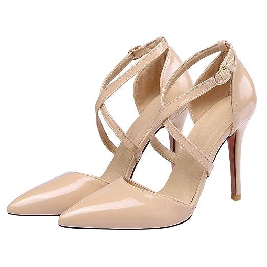f67d956dd84e0 Amazon.com: OutTop(TM) Women's High-Heeled Sandals Ladies Cross ...