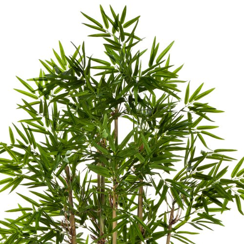 Bamb/ù artificiale Albero di bamb/ù // Pianta ornamentale 80 cm 480 foglie artplants