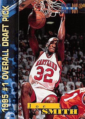- Joe Smith Basketball Card (Maryland) 1996 Score Board 1995 #1 Overall Draft Pick #8