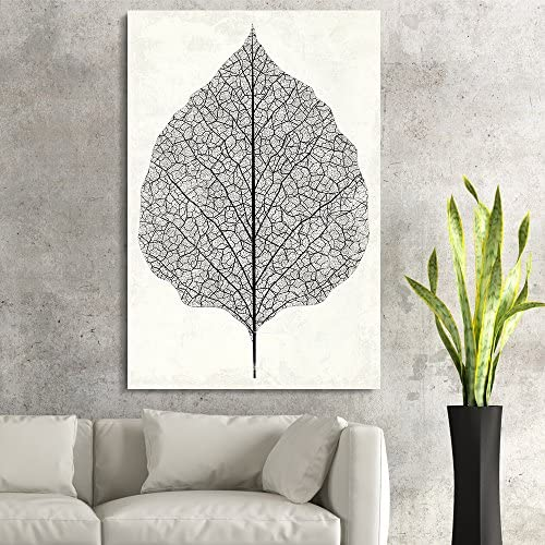 Vintage Style Leaf Vein